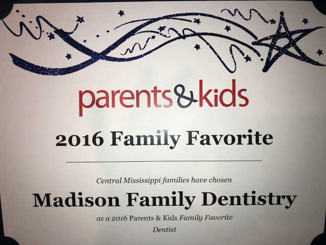 Voted Best Dentist By Parents & Kids Magazine